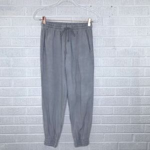 Anthropologie Cloth & Stone Cinch Joggers Gray XS